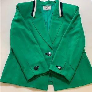 Kasper kelly green blazer